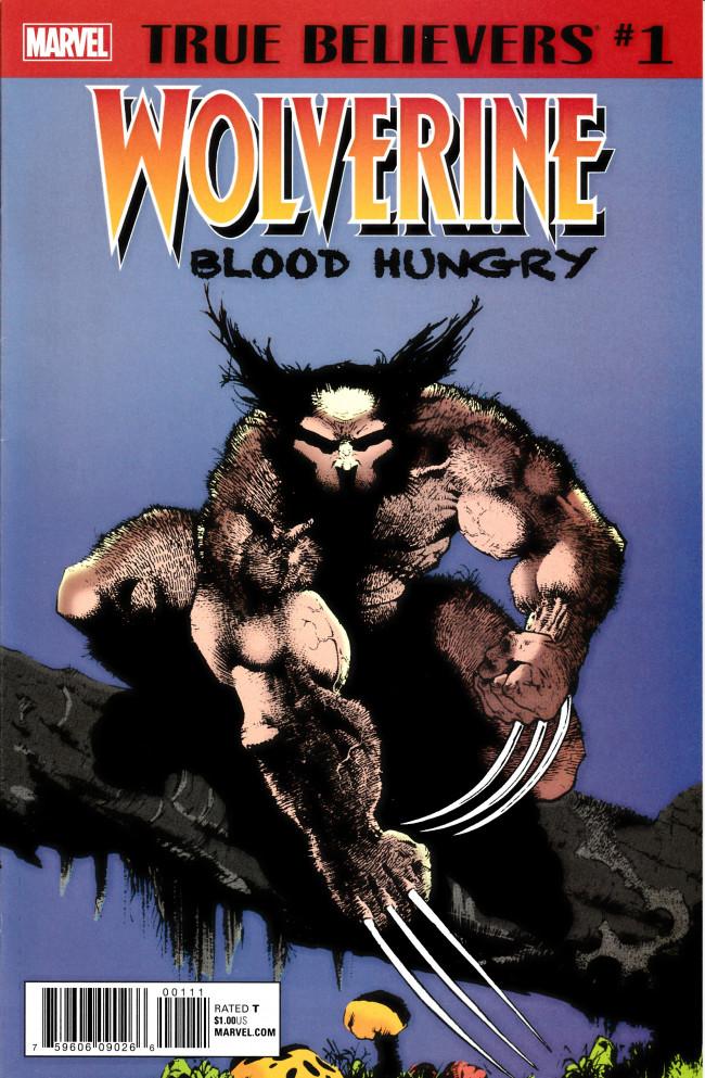 Couverture de True Believers: Wolverine (2018) - True Believers: Wolverine: Blood Hungry