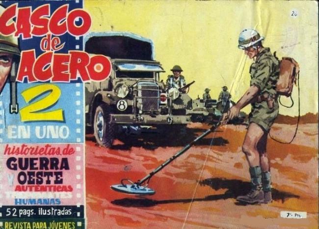 Couverture de Casco de acero -26- (sans titre)