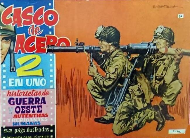 Couverture de Casco de acero -29- (sans titre)