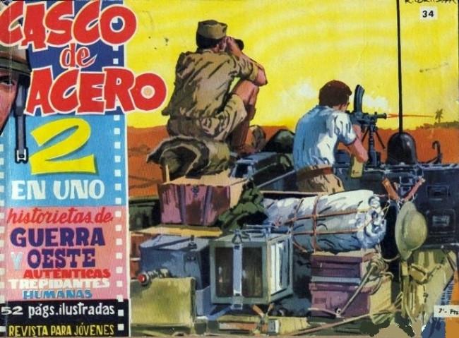 Couverture de Casco de acero -34- (sans titre)