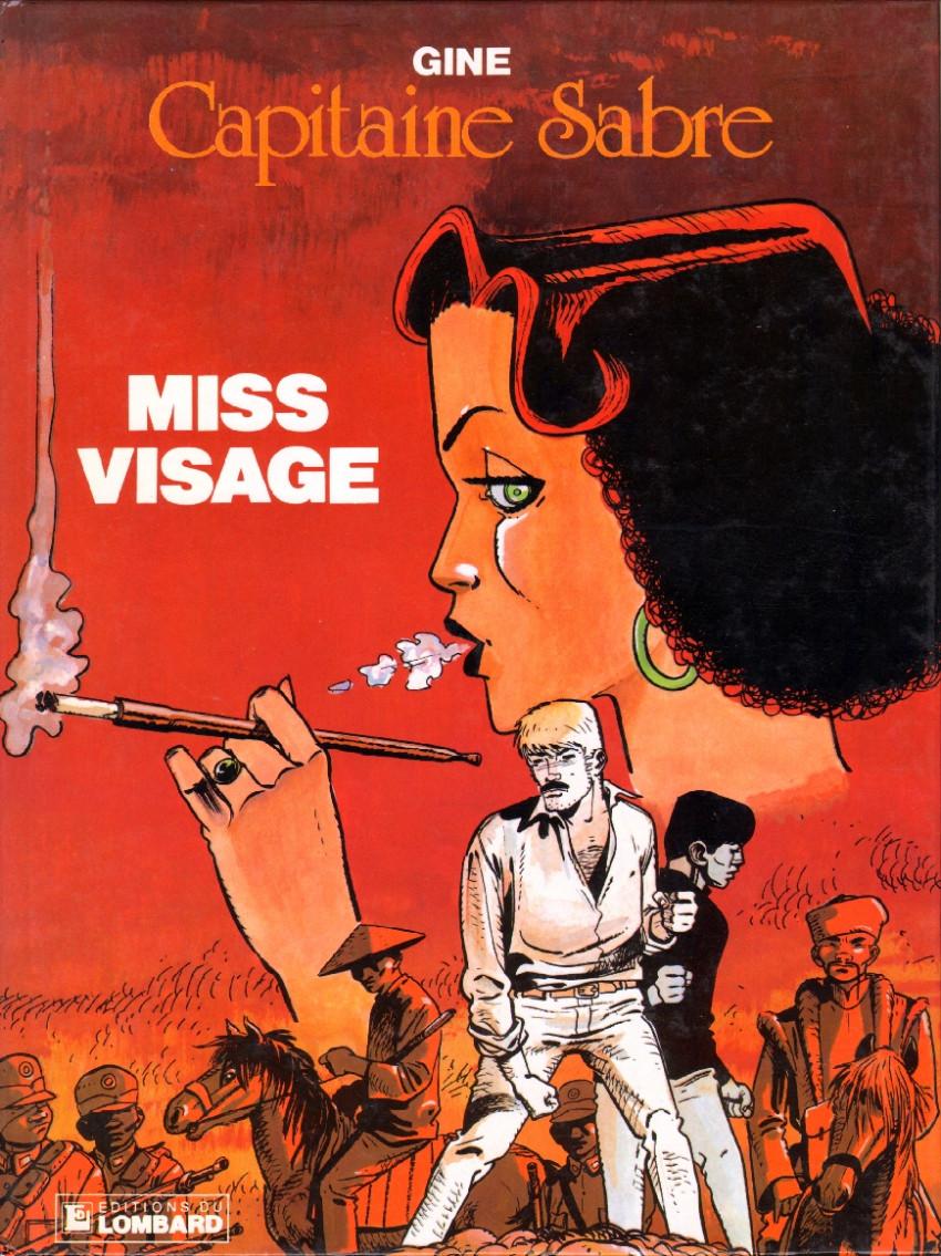 Couverture de Capitaine Sabre -2- Miss Visage