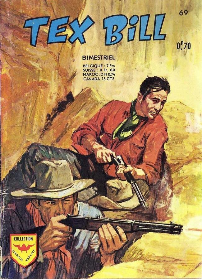 Couverture de Tex Bill -69- Les trois bandits