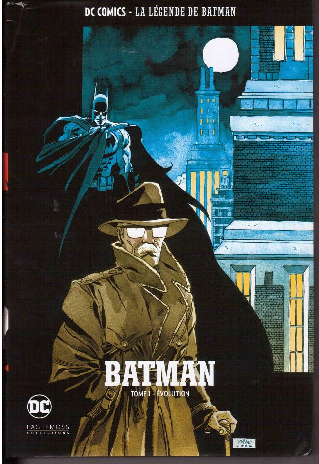Couverture de DC Comics - La légende de Batman -Premium01- BATMAN - Tome 1 évolution