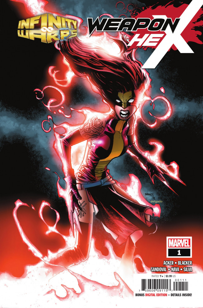 Couverture de Infinity Wars: Weapon Hex (2018) -1- Issue #1