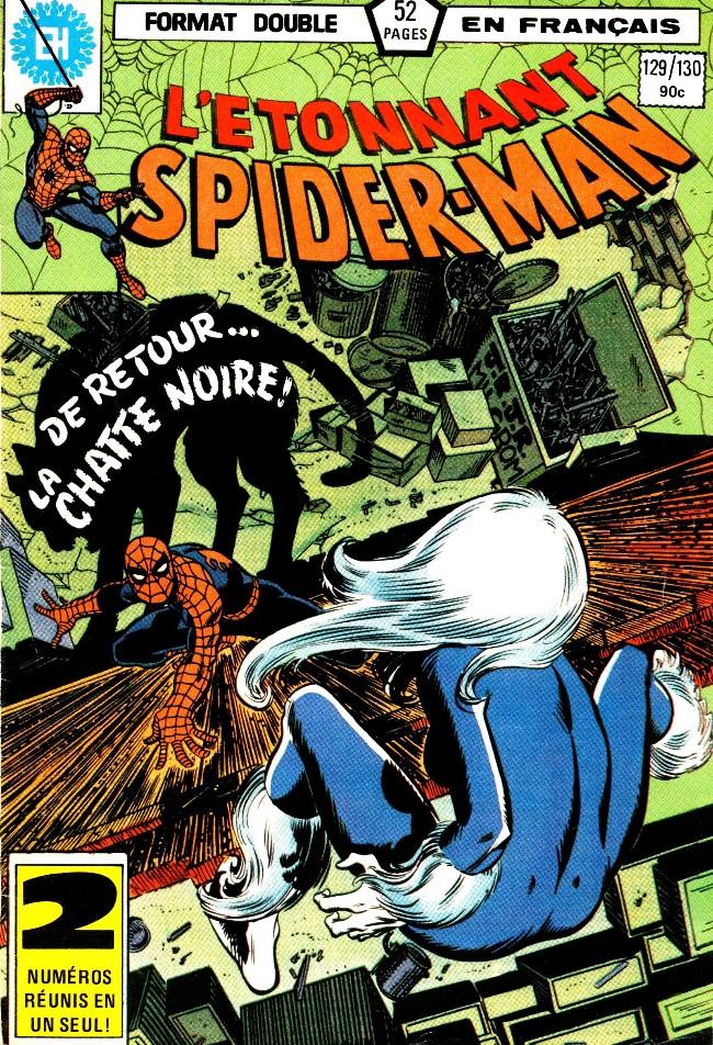 Couverture de L'Étonnant Spider-Man (Éditions Héritage) -129130- Mais la Chatte est revenue...