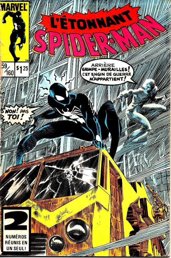 Couverture de L'Étonnant Spider-Man (Éditions Héritage) -159160- Avec puissance...