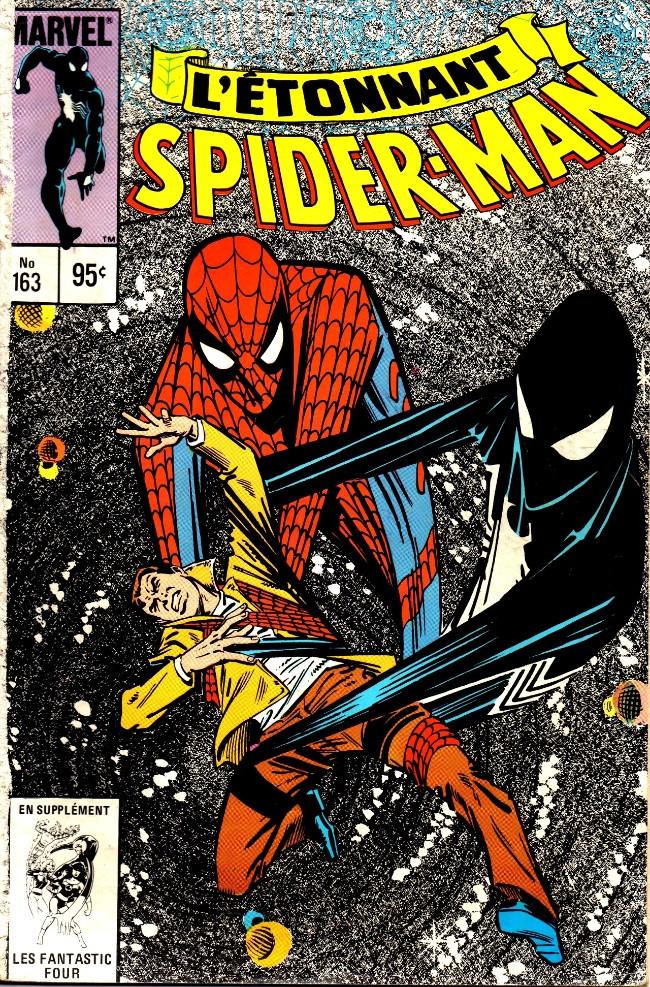 Couverture de L'Étonnant Spider-Man (Éditions Héritage) -163- Le sinistre secret du nouveau costume de Spider-Man