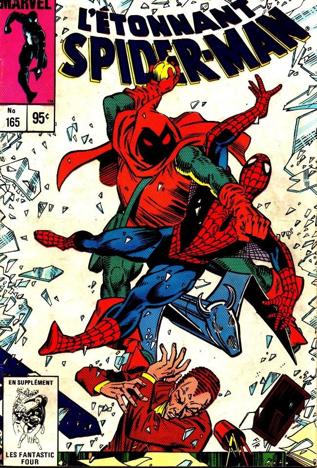 Couverture de L'Étonnant Spider-Man (Éditions Héritage) -165- Le défi de Hobgoblin!