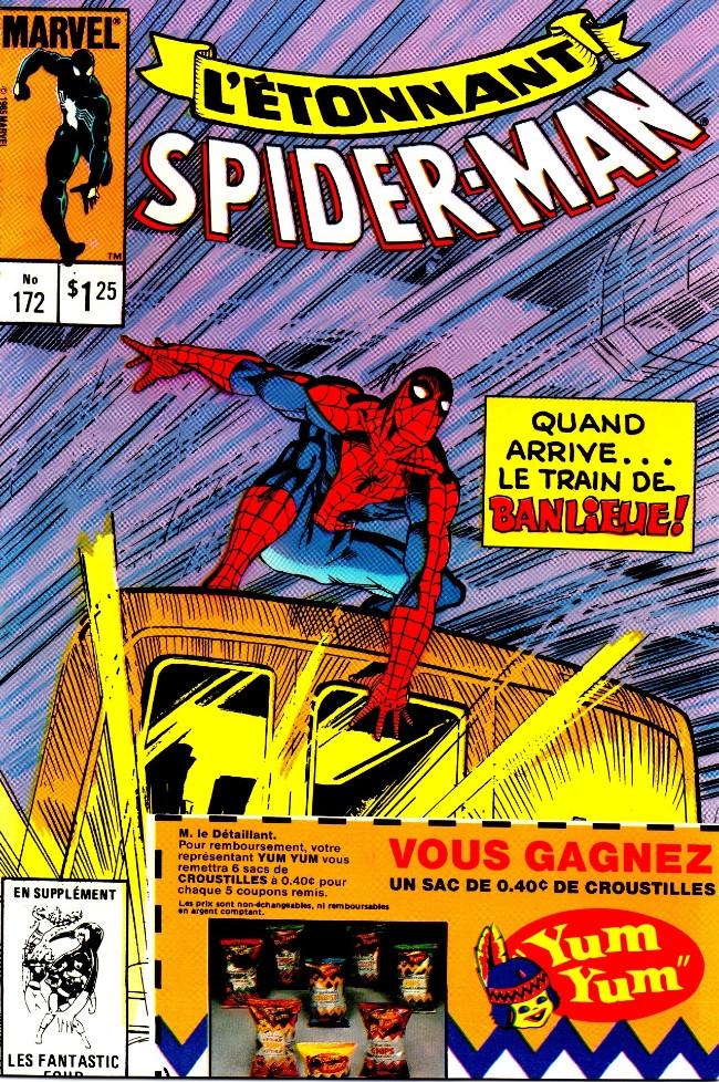 Couverture de L'Étonnant Spider-Man (Éditions Héritage) -172- Le banlieusard arrive!