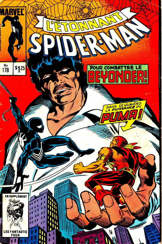 Couverture de L'Étonnant Spider-Man (Éditions Héritage) -178- Pour défier le Beyonder!