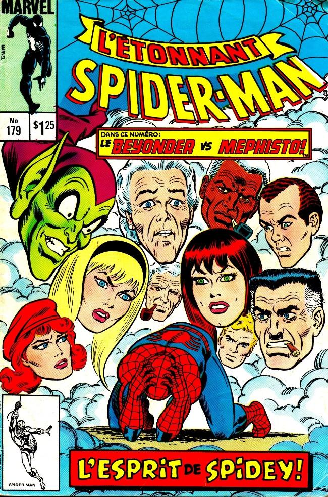 Couverture de L'Étonnant Spider-Man (Éditions Héritage) -179- Il viendra un champion!