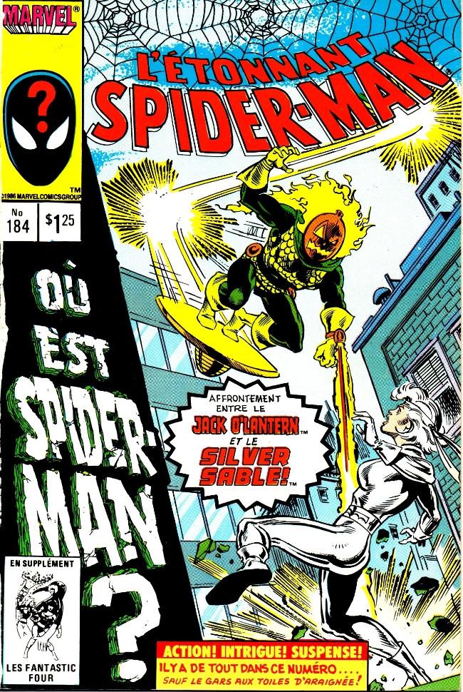 Couverture de L'Étonnant Spider-Man (Éditions Héritage) -184- Sable est féroce!