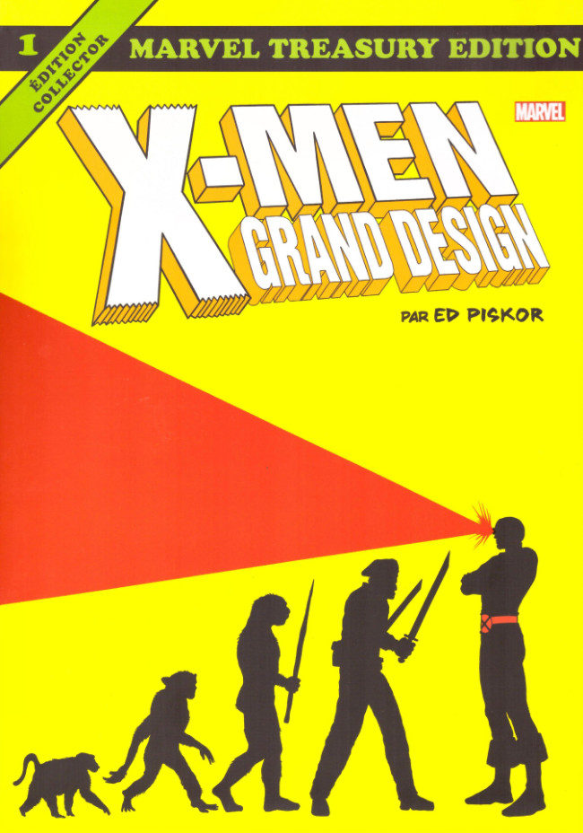 Couverture de X-Men : Grand Design - Tome 1