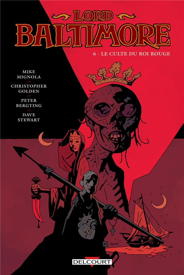 Couverture de Lord Baltimore -6- Le Culte du Roi Rouge