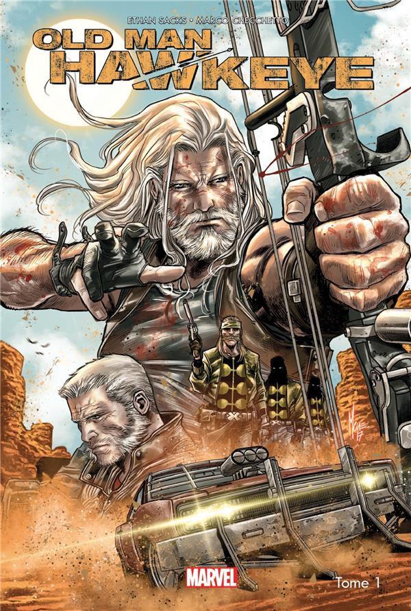 Couverture de Old Man Hawkeye -1- Œil pour œil
