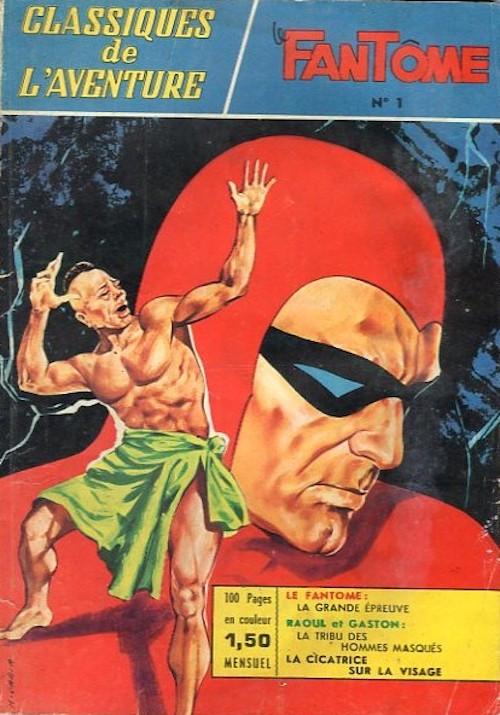 Couverture de Les héros de l'aventure (Classiques de l'aventure, Puis) -1- Le Fantôme : La grande épreuve