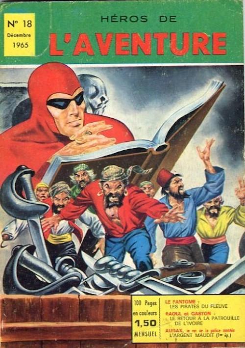 Couverture de Les héros de l'aventure (Classiques de l'aventure, Puis) -18- Le Fantôme : Les pirates du fleuve