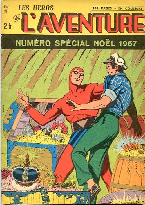 Couverture de Les héros de l'aventure (Classiques de l'aventure, Puis) -HS03- Spécial Noël 12/67 : Le trésor des aïeux