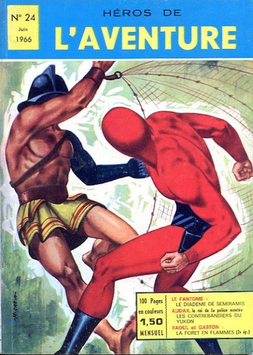 Couverture de Les héros de l'aventure (Classiques de l'aventure, Puis) -24- Le Fantôme : Le diadème de Sémiramis