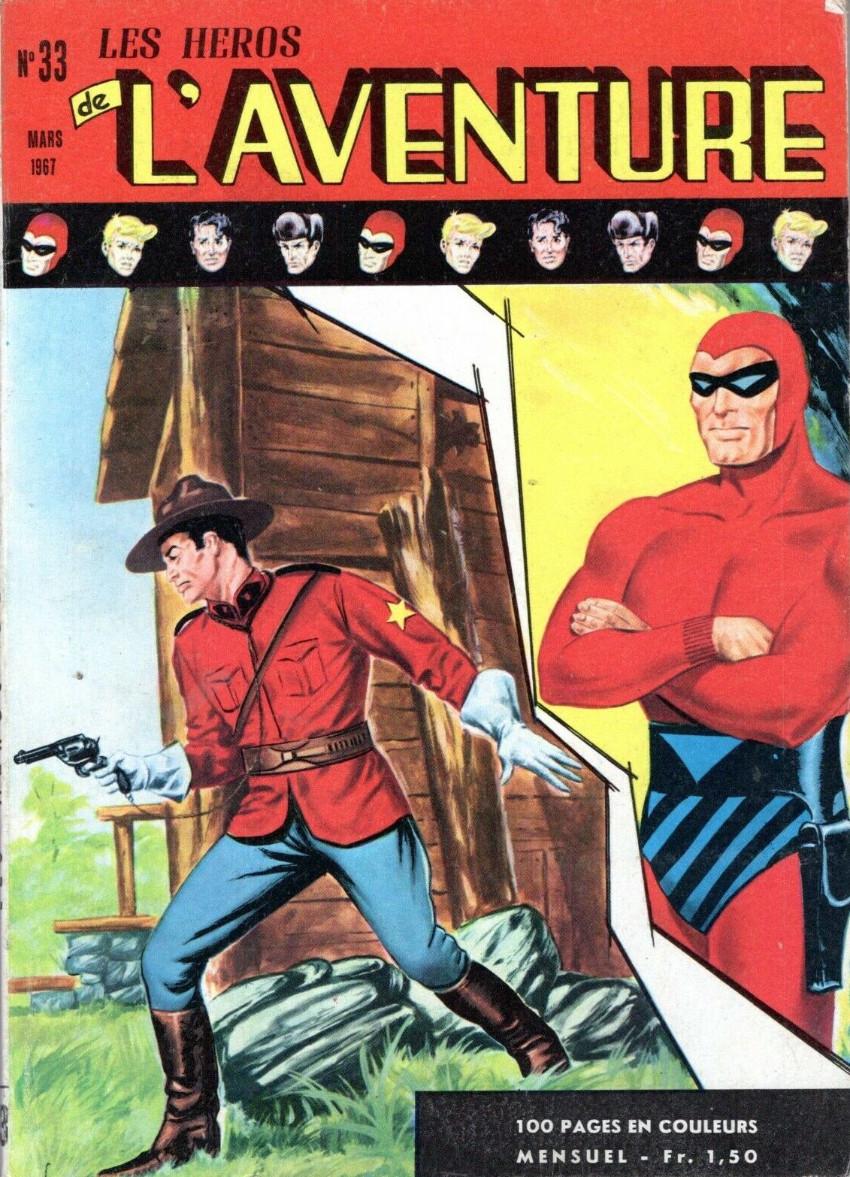 Couverture de Les héros de l'aventure (Classiques de l'aventure, Puis) -33- Le Fantôme : L'enfance du Fantôme
