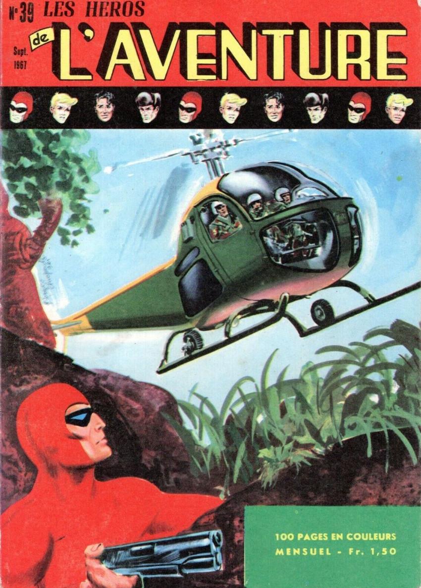 Couverture de Les héros de l'aventure (Classiques de l'aventure, Puis) -39- Le Fantôme : Combat pour une formule