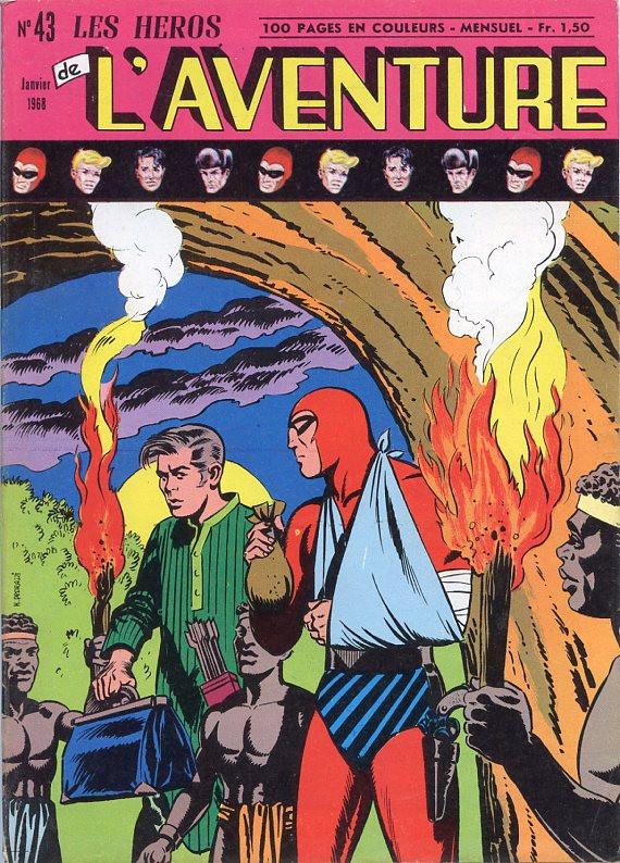 Couverture de Les héros de l'aventure (Classiques de l'aventure, Puis) -43- Le Fantôme : Chevauchée à travers les siècles