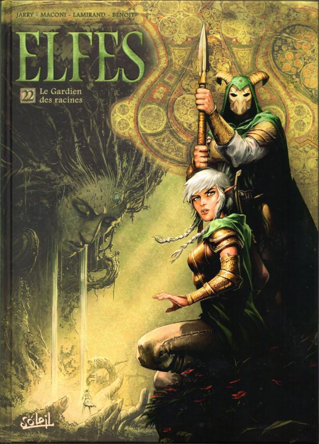 Couverture de Elfes -22- Le Gardien des racines