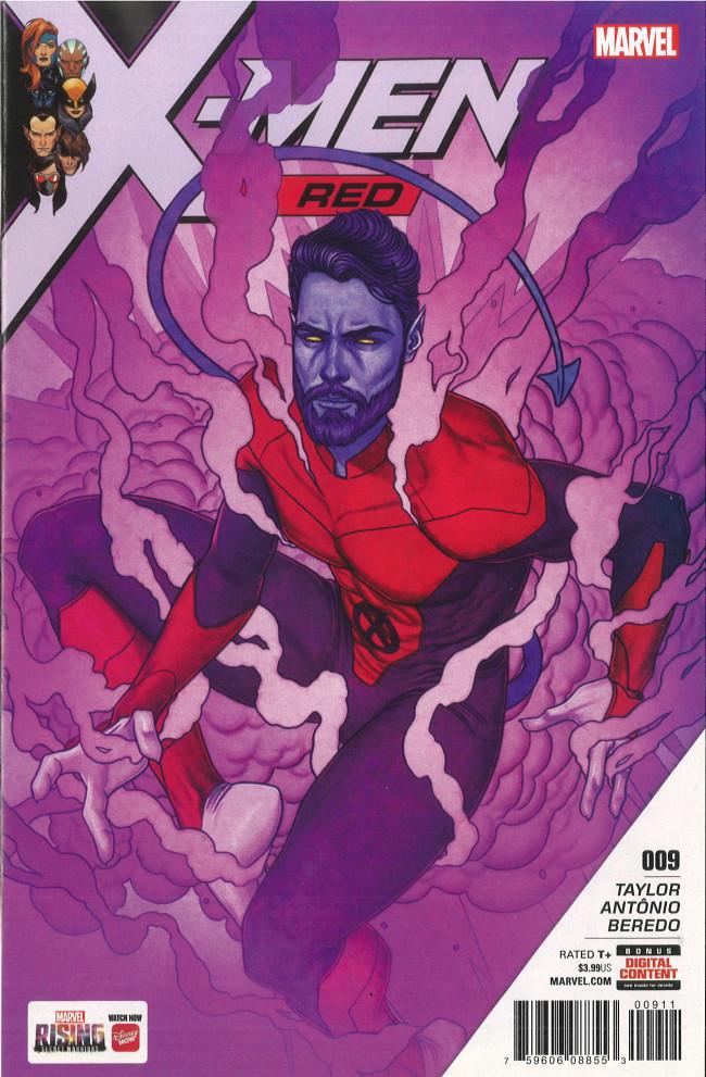 Couverture de X-Men: Red (2018) -9- Part 9: Grey Vs. Grey
