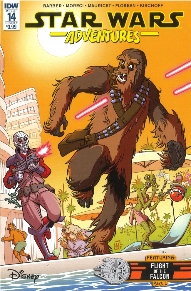 Couverture de Star Wars Adventures (2017) -14- Chewie's Day Off