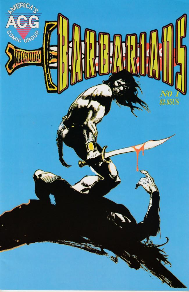 Couverture de Barbarians (1998) -1- Barbarians