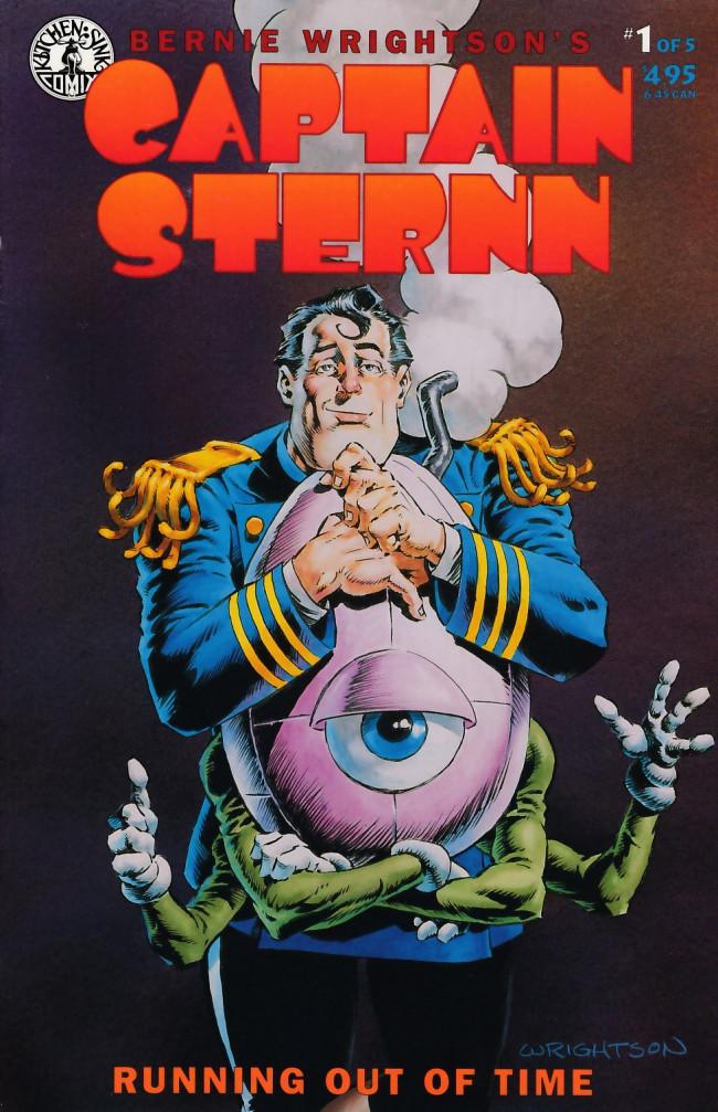 Couverture de Captain Sternn: Running Out of Time (1993) -1- Captain Sternn: Running Out of Time #1