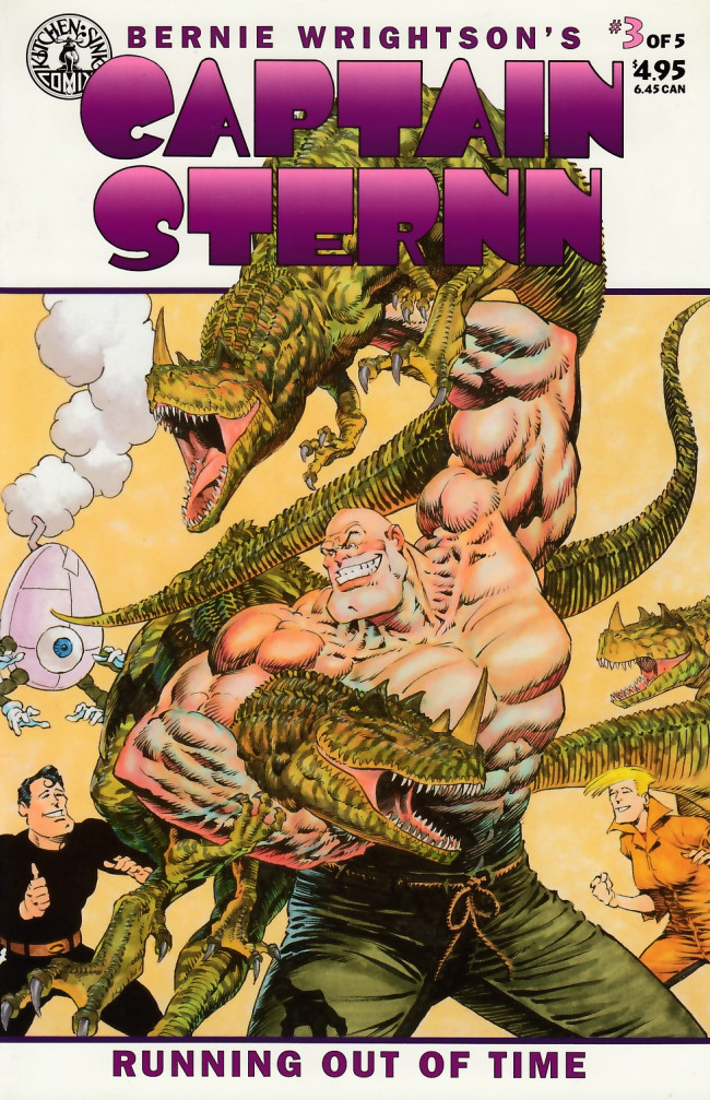 Couverture de Captain Sternn: Running Out of Time (1993) -3- Captain Sternn: Running Out of Time #3