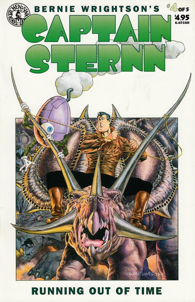 Couverture de Captain Sternn: Running Out of Time (1993) -4- Captain Sternn: Running Out of Time #4
