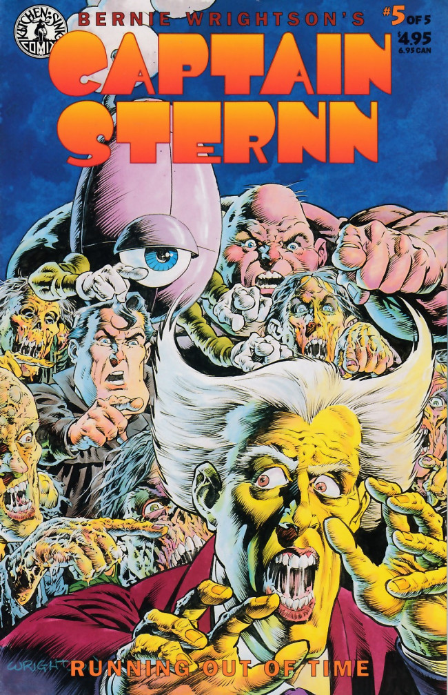 Couverture de Captain Sternn: Running Out of Time (1993) -5- Captain Sternn: Running Out of Time #5