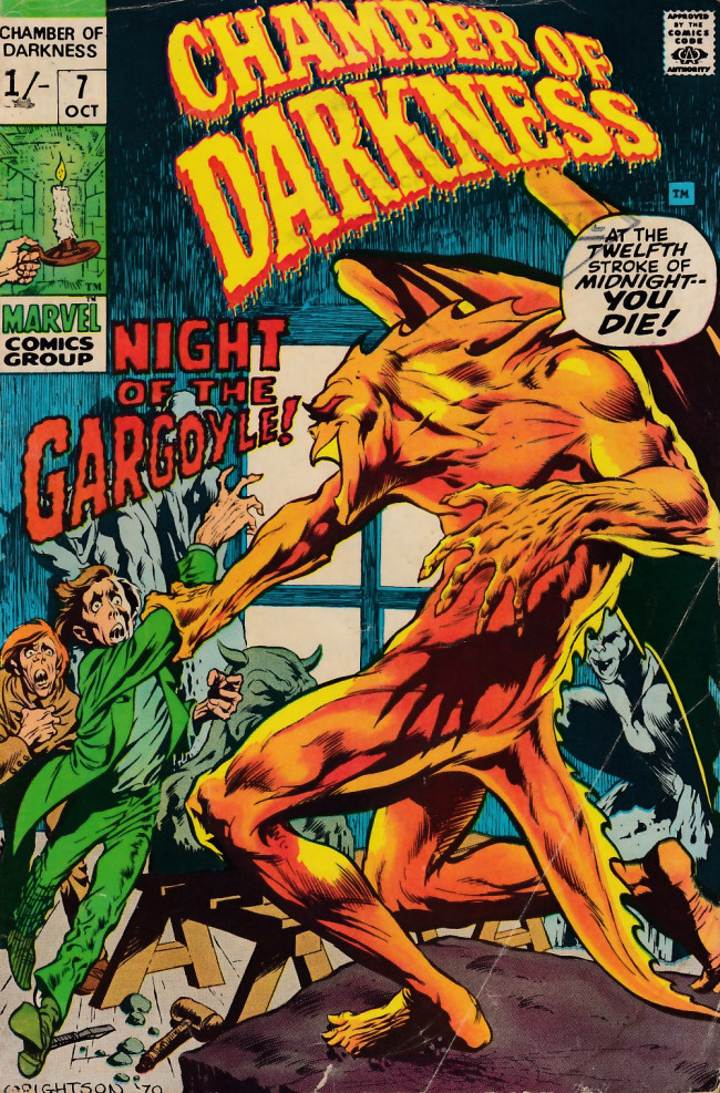 Couverture de Chamber of Darkness (Marvel - 1969) -7- Chamber of Darkness #7