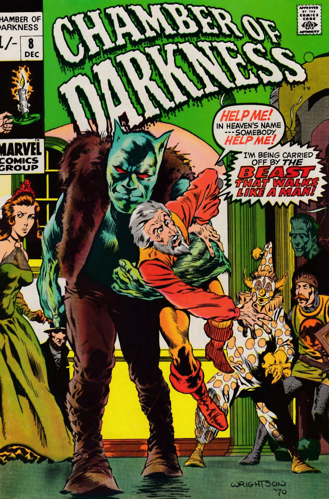 Couverture de Chamber of Darkness (1969) -8- Chamber of Darkness #8