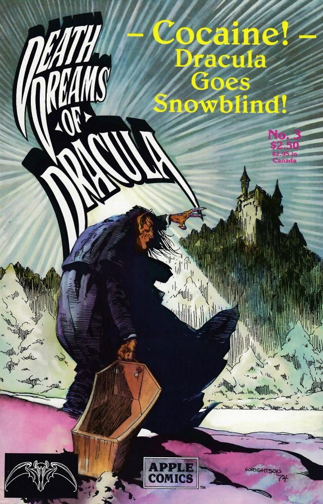 Couverture de Death Dreams of Dracula -3- Death Dreams of Dracula #3