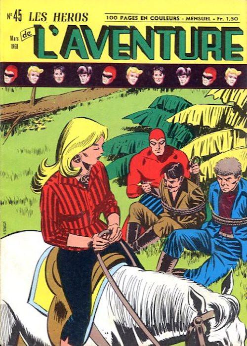 Couverture de Les héros de l'aventure (Classiques de l'aventure, Puis) -45- Le Fantôme : Plus cruels que les fauves