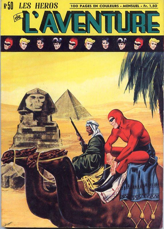 Couverture de Les héros de l'aventure (Classiques de l'aventure, Puis) -50- Le Fantôme : Les voleurs de la tombe du roi