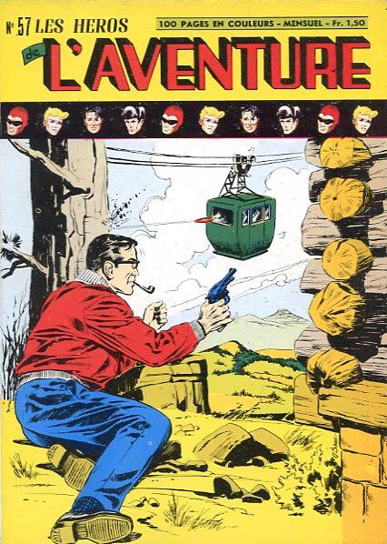 Couverture de Les héros de l'aventure (Classiques de l'aventure, Puis) -57- Le Fantôme : La valise diplomatique 1