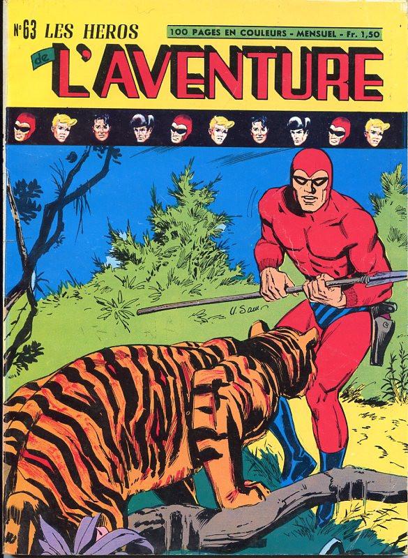 Couverture de Les héros de l'aventure (Classiques de l'aventure, Puis) -63- Le Fantôme : Gangsters à Keela Wee
