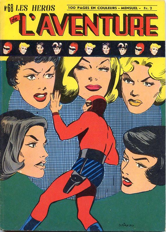 Couverture de Les héros de l'aventure (Classiques de l'aventure, Puis) -68- Le Fantôme : L'As de pique