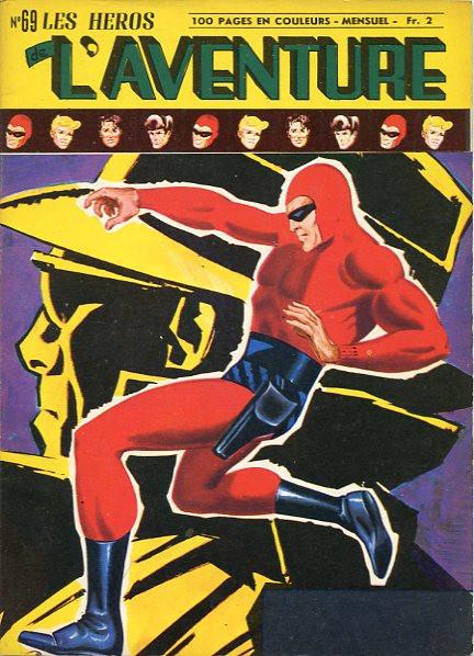 Couverture de Les héros de l'aventure (Classiques de l'aventure, Puis) -69- Le Fantôme : Le commandant mystérieux
