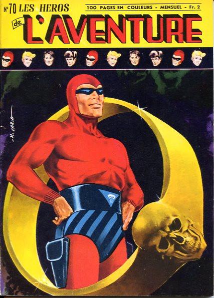 Couverture de Les héros de l'aventure (Classiques de l'aventure, Puis) -70- Le Fantôme : Les chevaux de la mort