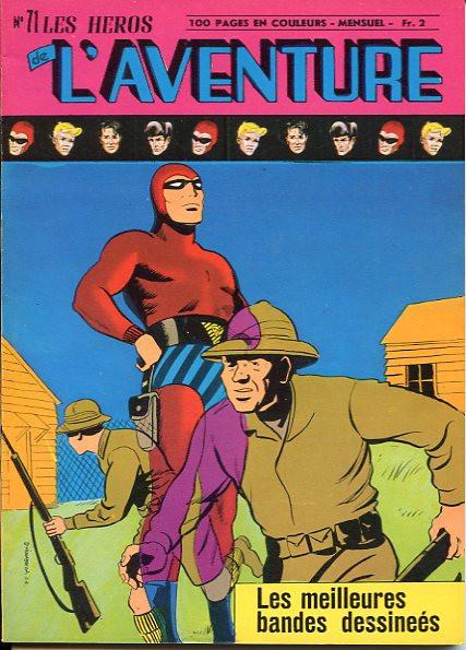 Couverture de Les héros de l'aventure (Classiques de l'aventure, Puis) -71- Le Fantôme : Safari à Eden