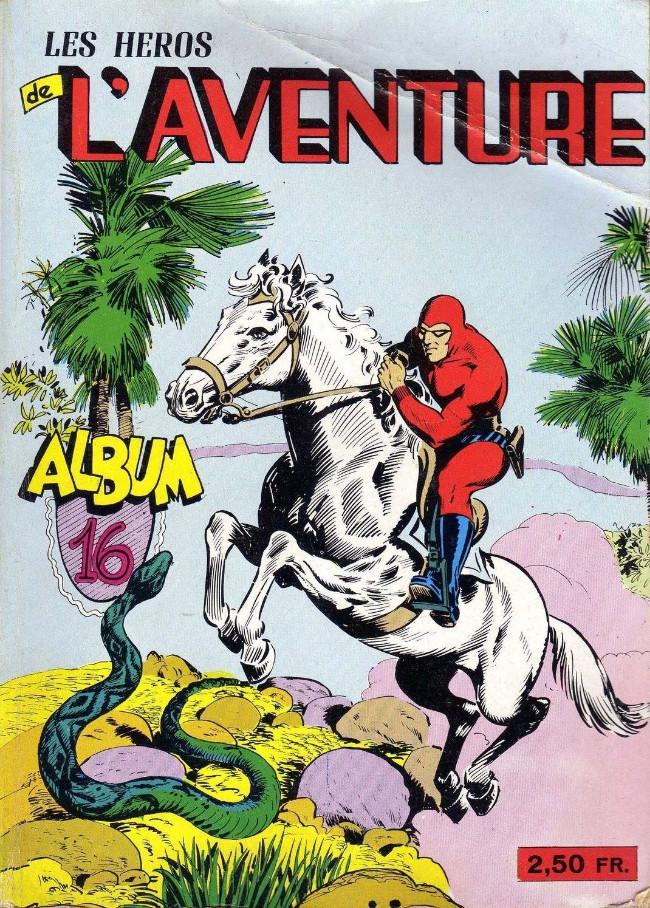 Couverture de Les héros de l'aventure (Classiques de l'aventure, Puis) -Rec16- Album N°16 (du n°46 au n°48)