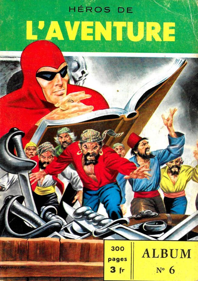 Couverture de Les héros de l'aventure (Classiques de l'aventure, Puis) -Rec06- Album N°6 (du n°16 au n°18)