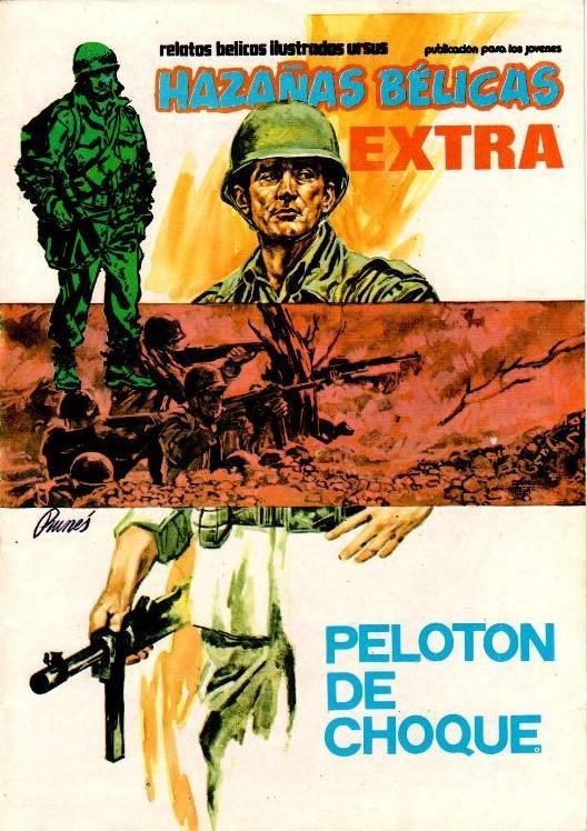 Couverture de Hazañas bélicas (Vol.11 - Ursus extra 1 - 1979) -1- Pelotón de choque