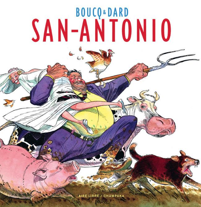 Couverture de (AUT) Boucq -1- San-Antonio - Artbook Boucq-Dard