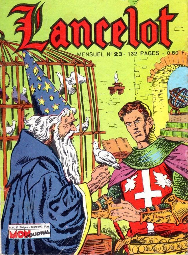 Couverture de Lancelot (Mon Journal) -23- Mission à Tintagel